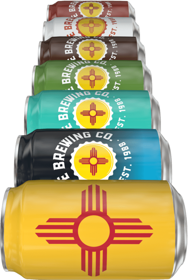 Santa Fe Brewing Cans