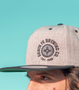 Logo Embroidered Flat-Billed Snapback