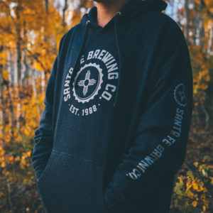 Navy Heather Logo Pull-over Hoodie