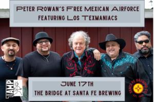 Peter Rowan's Free Mexican Airforce Social-1