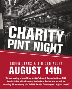 Charity Pint Night
